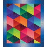 "Ombre Sashay Quilt by Susan Emory /60""x68"" - Pattern will be available in July"
