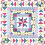 "One Day in May Quilt by Lily Ashbury  /95.5""x95.5"""