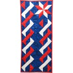 """Patriotic Table Runner by Rob Appell /43.5""""x18.5"""""""
