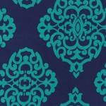 Printed Cotton Couture COLOR: TEAL