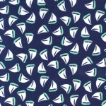 Printed Cotton Couture COLOR: MARINE