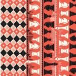 CHECKMATE - double border print