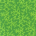 PRINTED COTTON COUTURE   COLOR: GREEN