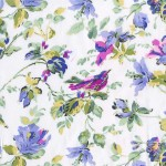 PRINTED COTTON COUTURE  COLOR: LILAC