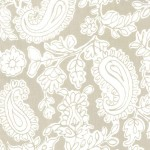 PRINTED COTTON COUTURE   COLOR: CAPPUCCINO