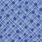 PRINTED COTTON COUTURE  COLOR: BLUE