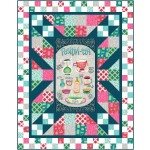 "panel blast quilt by swirly girls design 63""x81"""