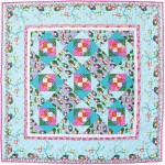 "Prince Charming Quilt by Heidi Pridemore /56""x56"""