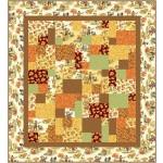 "Snappy - Pumpkin Farm Quilt by Swirly Girls Design 60""x66"""