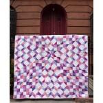 "Purple Rain Quilt & Pillow Sham by Marsha Evans Moore /66""x78"""
