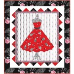 Boudoir Dress Quilt by Heidi Pridemore