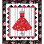 Boudoir Dress Quilt by Heidi Pridemore
