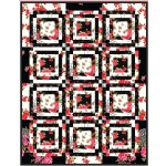 "Charming Fat Quarter Quilt by Heidi Pridemore /34""x44"""