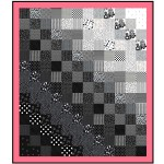"Shades in Between Quilt by Denise Russell of Pieced Brain /60""x69"""