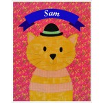 "Sam Quilt  by Shiny Happy World /42""x42"""