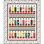 "Pencil Box quilt by Heidi Pridemore / 54""x65"""