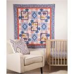 "Seedling Safari Quilt by Heidi Pridemore  / 50""x59"""