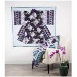 "Serafina Kimono Quilt by Marinda Stewart /50""x50"""