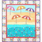 "Sheep to Shore Quilt by Heidi Pridemore /40""x44"""