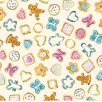 BISCUIT CUTTERS ON MINKY
