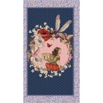 ELDERBERRY FLOWER FAIRIES PANEL ON MINKY