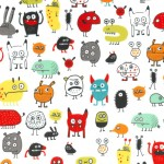I WANT A MONSTER on MINKY - NOT FOR PURCHASE BY MANUFACTURERES