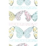 BUTTERFLY ROW on MINKY- contact your account manager to purchase this item