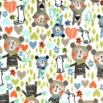 BEARS AND BUNNIES on MINKY