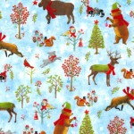 FOREST FESTIVITIES ON MINKY  - Contact your account manager to purchase this item