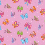BUTTERFLY DAZZLE on MINKY