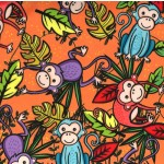 TROPICAL MONKEYS ON MINKY