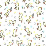 BUBBLE QUACK ON MINKY  - Contact your account manager to purchase this item