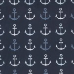 ANCHORS STRAIGHT on MINKY- Contact your account manager to purchase this item