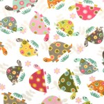 HAPPY TURTLES on MINKY- Contact your account manager to purchase this item