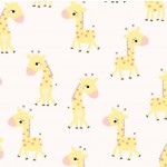 Bashful Giraffe on MINKY