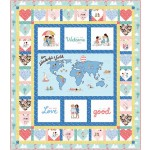 "Spread the Love Quilt by Marsha Evans Moore /55""x63"""