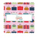 "TRAVEL DAZE 10"" SQUARE- 12pcs - comes in a case of 5"