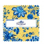 "PROVENCIAL BLUE 10"" SQUARE- 42pcs  - comes in a case of 5"