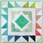 """Starboard Mini Quilt by Patty Sloniger - 24x24"""""""