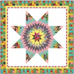 "Starburst Quilt by Wendy Sheppard /65""x65"""