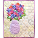 "Still LIfe Applique Quilt Tutorial by Rob Appell  /33 1/2"" x 27 1/2"""