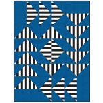 "Strip Strip Goose Quilt by Hunter's Design Studio /72""x96"""