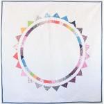 "Sun Halo Quilt by Sandra Clemons / 68x68"""