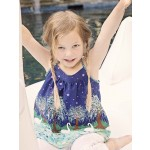 Swan Lake  Shirt  - uses Burda Kids Patt # 9490