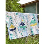 "Swimming in Circles Quilt by Swirly Girls Design /42""x54"""