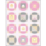 """Circle Time The Dimsum Steam Team Quilt by Everyday Stitches 55""""x74"""""""