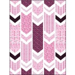 """Crackle - Think Pink Quilt by on Williams street / 54""""x72"""""""