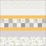 """To the Moon and Back MINKY Quilt 57'x57"""" - Free Pattern Available in September"""