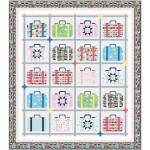 "Travel Daze Quilt by Wendy Sheppard /78""x88"""