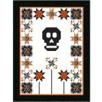 """Vida y Muerte - Trick or Treat Quilt by Miss Winnie Designs 74""""x98"""""""